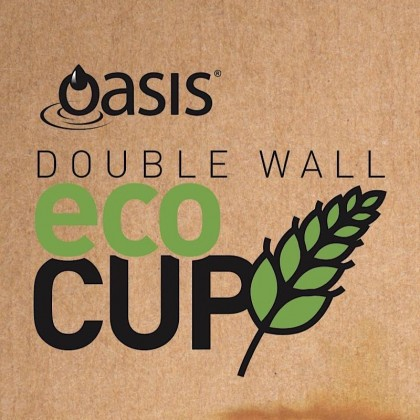 Oasis Eco Double Wall Cup 400ml